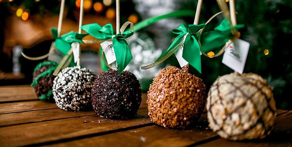 «Трюфель», «Ореховая корзинка» и другие карамельные яблоки от интернет-магазина Heets