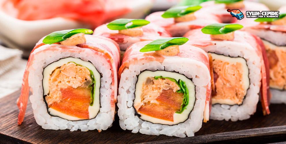 Большие роллы, сытные наборы, хрустящая темпура и суши от ресторана доставки «Суши-Сервис»