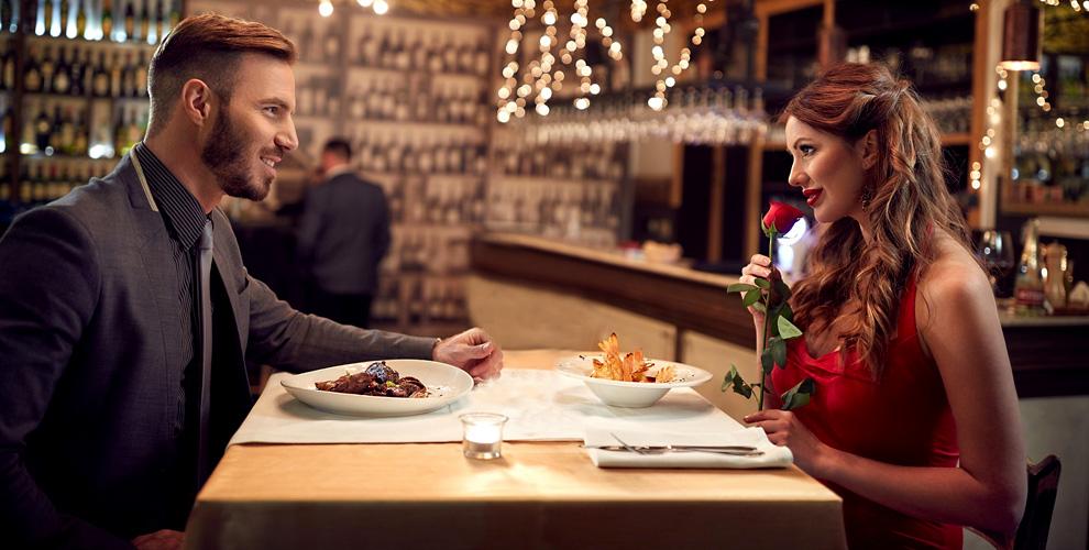 Романтический ужин и банкет в кафе «Галерея вин»
