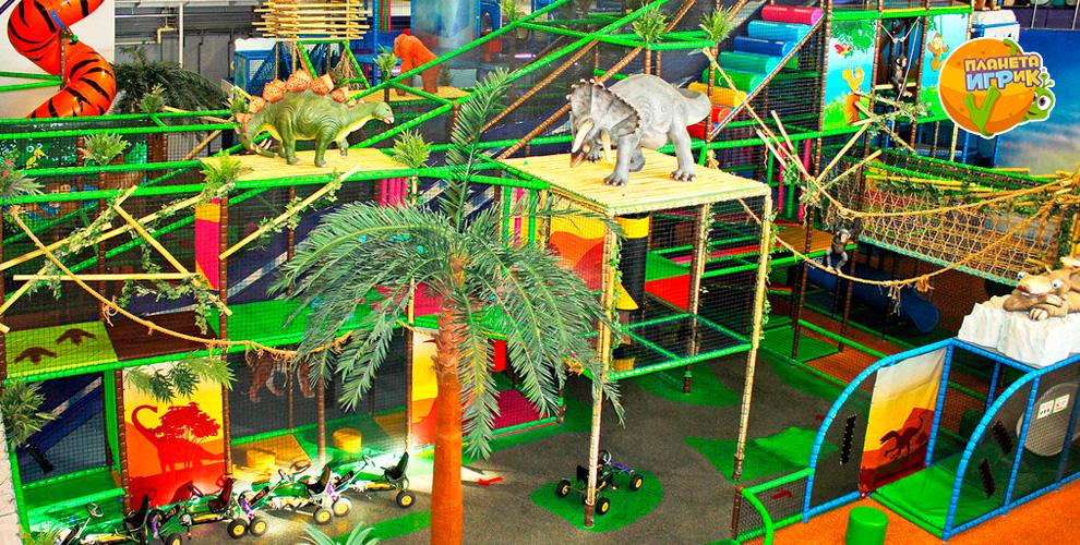 Посещение семейного парка развлечений «Планета ИГРиК»