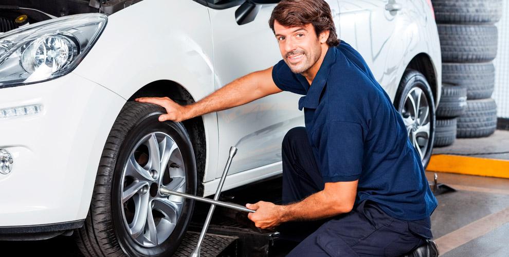 Сеть шиномонтажных мастерских MAshina: перебортовка вашего легкового автомобиля
