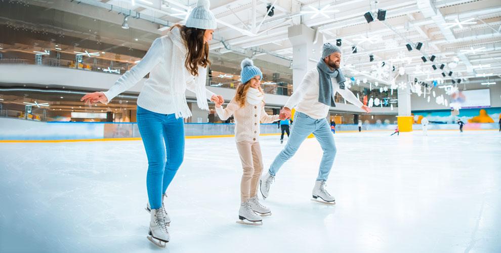 «Ледовая арена им. Александра Козицына»: посещение ледовой арены, занятия пофитнесу