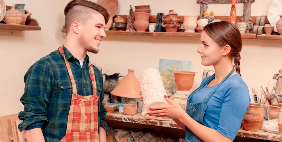 Мастер-классы и занятия керамикой от компании O`ART-c