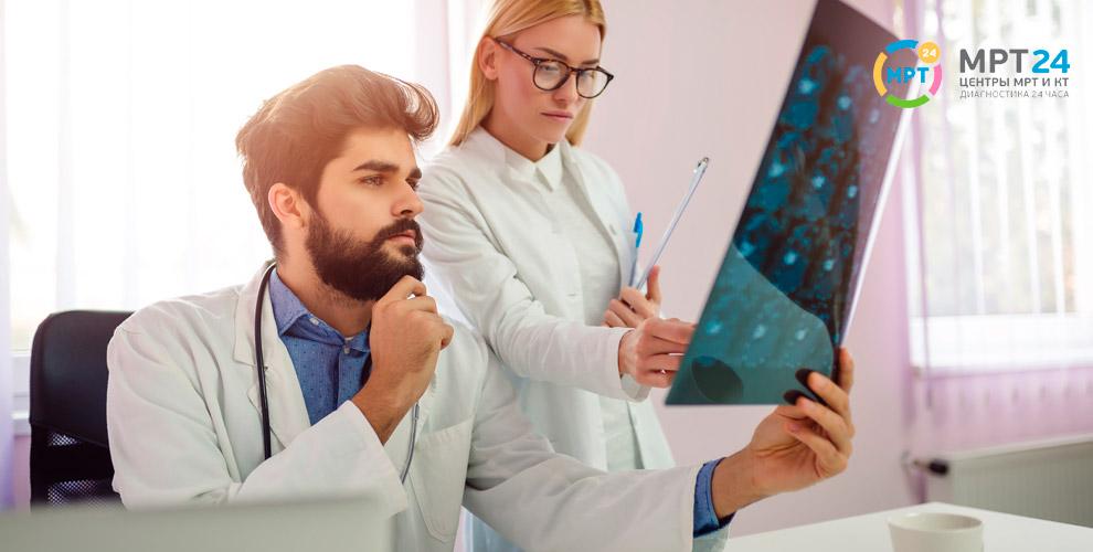 МРТ головы, позвоночника, суставов и ангиография в центре «МРТ-24»