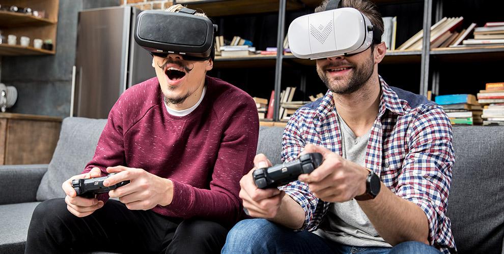 Игры вприставку иввиртуальной реальности, проведение праздника вклубе VoronkaVR