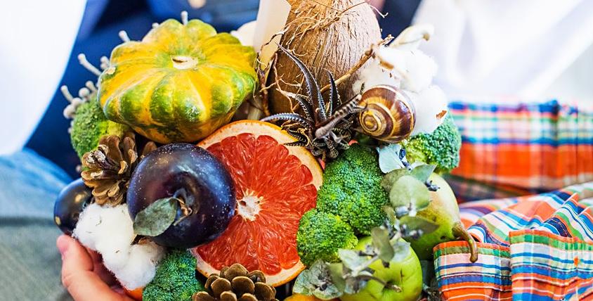 """Удивите своих близких! Оригинальный и полезный подарок - букет из овощей от компании """"КимА"""""""
