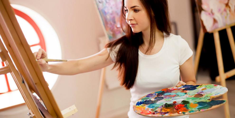 Мастер-класс по рисованию картин на выбор от творческой студии «Волшебный мастихин»