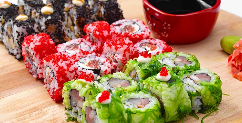 """Волнующий мир японской кухни с многовековой историей! Суши, роллы, сашими, пицца и не только от службы доставки """"Темпура"""""""