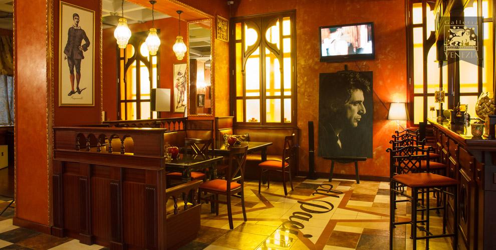 Итальянский ужин с изысканными блюдами в ресторане Galleria Venezia