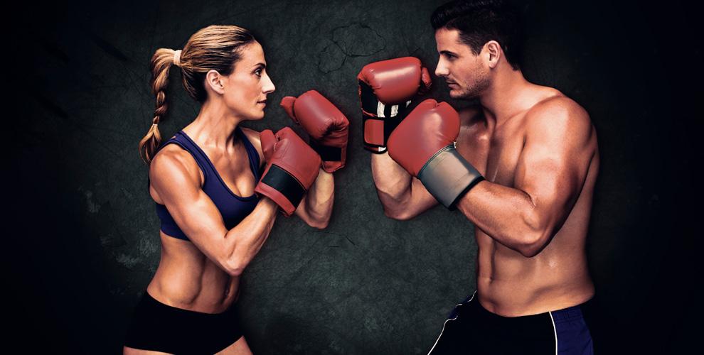 Тренировки по боксу, самбо и другое в спортивном клубе «Первая Линия»
