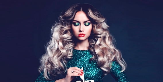 """Женская стрижка, прическа """"Голливудский локон"""", окрашивание, глазирование и ламинирование волос в салоне красоты """"Соблазн"""""""