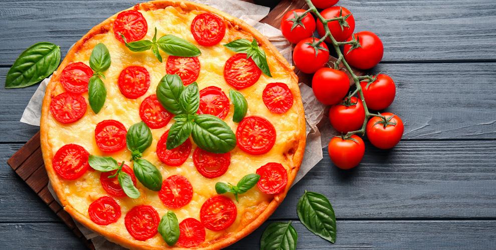 Пицца диаметром 40смотслужбы доставки Chef