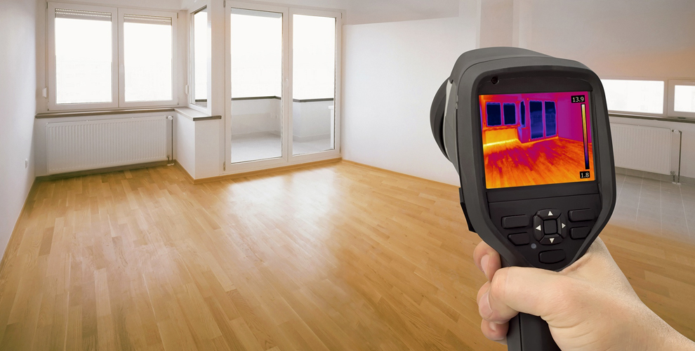 Тепловизионное обследование квартиры или дома от компании «Теплоконтроль МИЦАР»