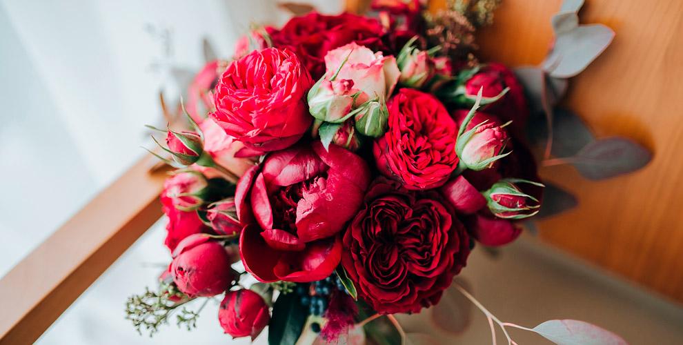 Цветы ибукеты изрозоткомпании Floris Shop