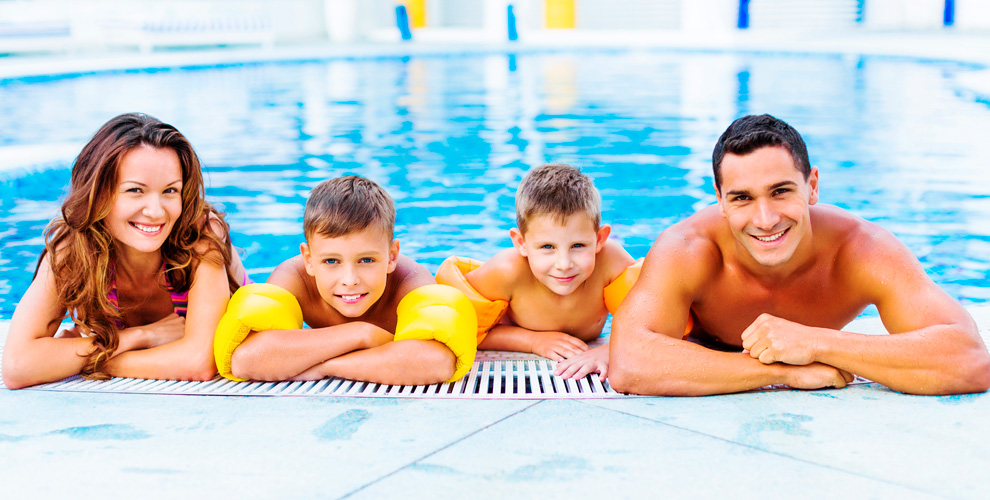 Семейное идетское плавание, акваэробика, фитнес вцентре плавания «Ихтиандр»