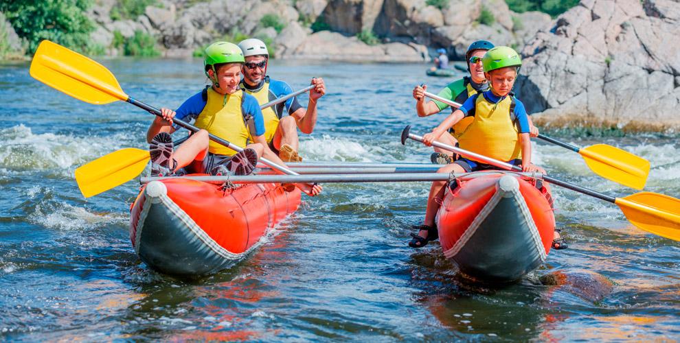 Участие всплавах пореке Айсэкскурсиями откомпании «Капитан-Тур»