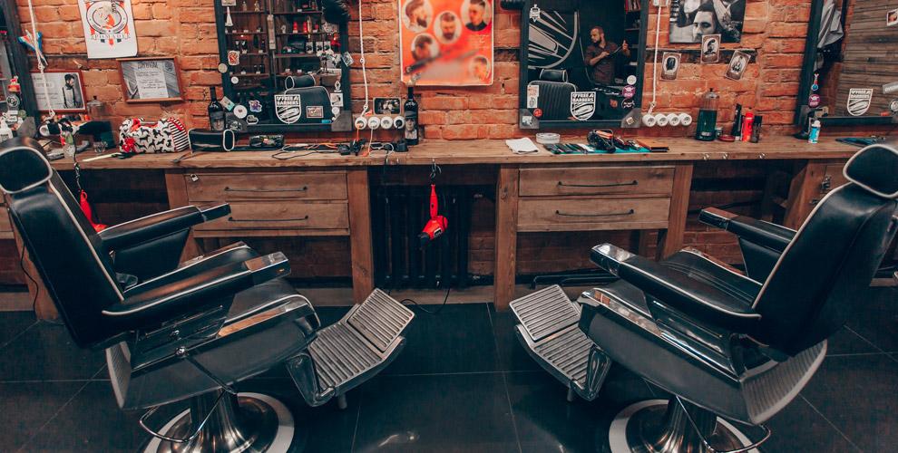 Мужские идетские стрижки впарикмахерской Free Barbers