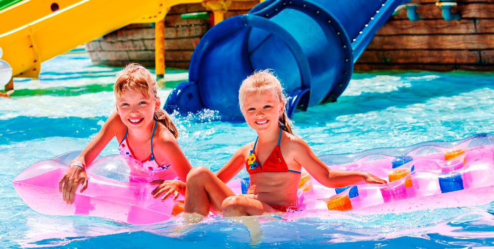 Целый день ваквапарке «Аква-Юна»: серфинг, горки, бассейны, сауна, бильярд