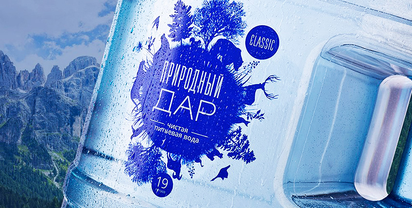 """Доставка артезианской воды в бутылях и механическая помпа от компании """"Природный дар"""""""