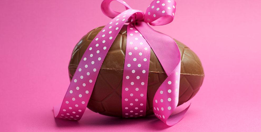 Подарочное яйцо с шоколадным наполнением от компании Kinder Prise