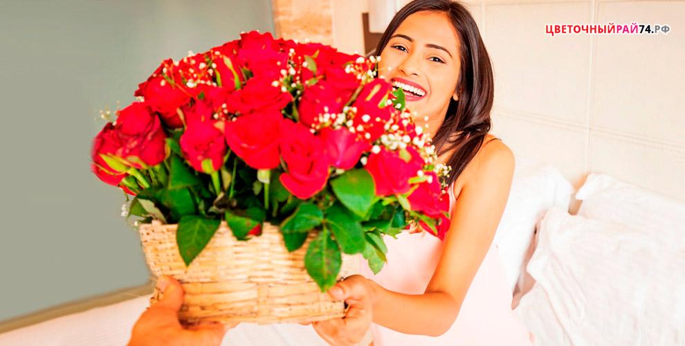 Большое разнообразие цветов и модных букетов для любимых от магазина «Цветочный рай»