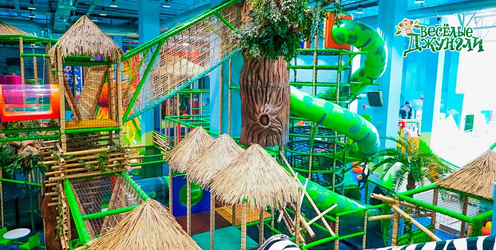 Билеты в лабиринт для детей в парке активного отдыха и развлечений «Веселые Джунгли»