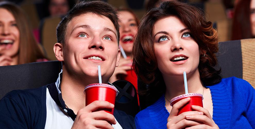 Два билета по цене одного в кино в кинозале «Синема»