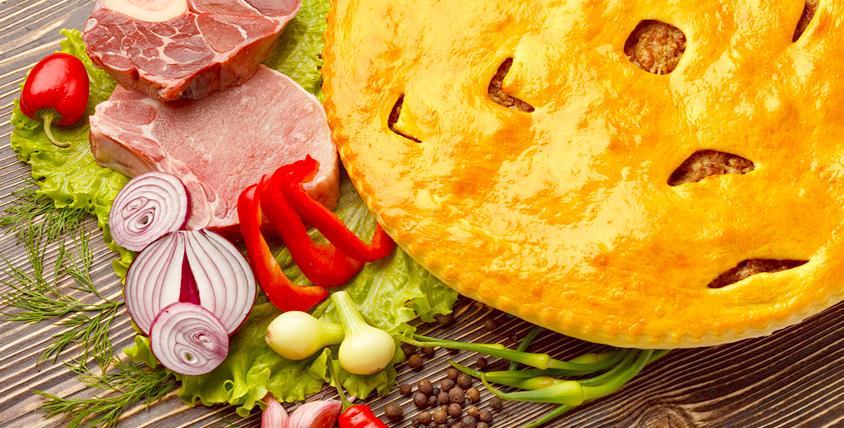 """Для настоящих гурманов - горячие осетинские пироги от службы доставки """"Осетинка"""". Приятного аппетита!"""
