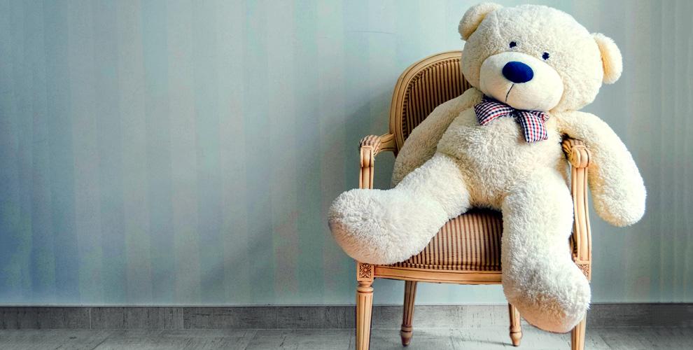 Плюшевый медведь от интернет-магазина «Твой мишка»
