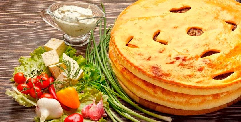 """Все меню пиццы и осетинских пирогов от 280 руб. от службы доставки """"Дары Осетии"""""""