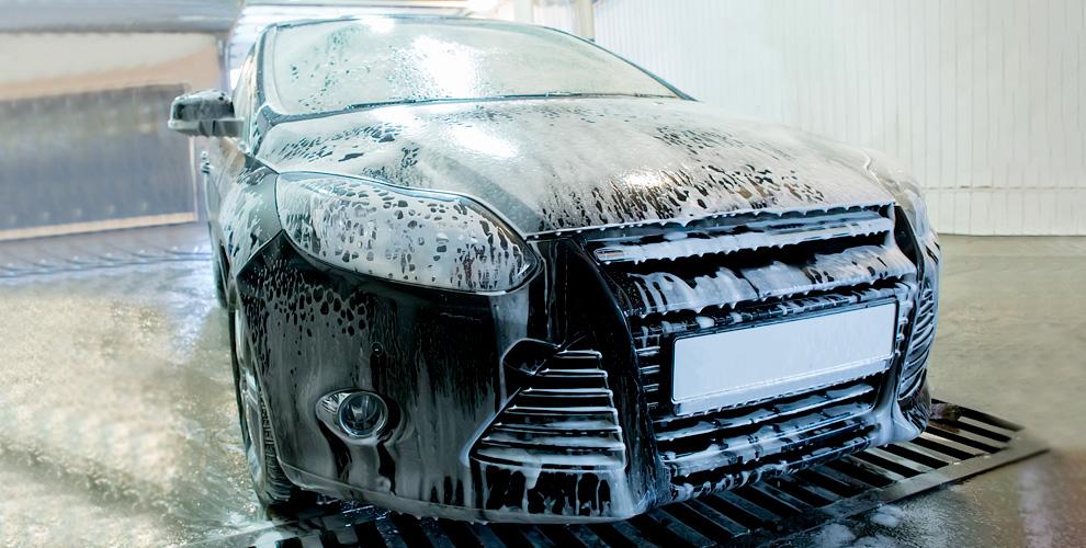 Комплексная мойка с нано-шампунем для автомобилей в автомойке «СССР»
