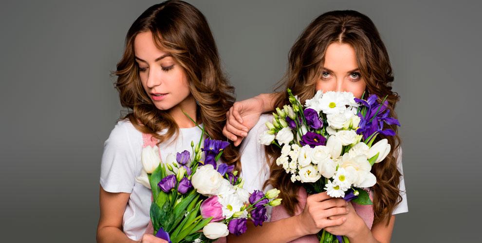 Разнообразные цветы и букеты от компании ChelSuavite