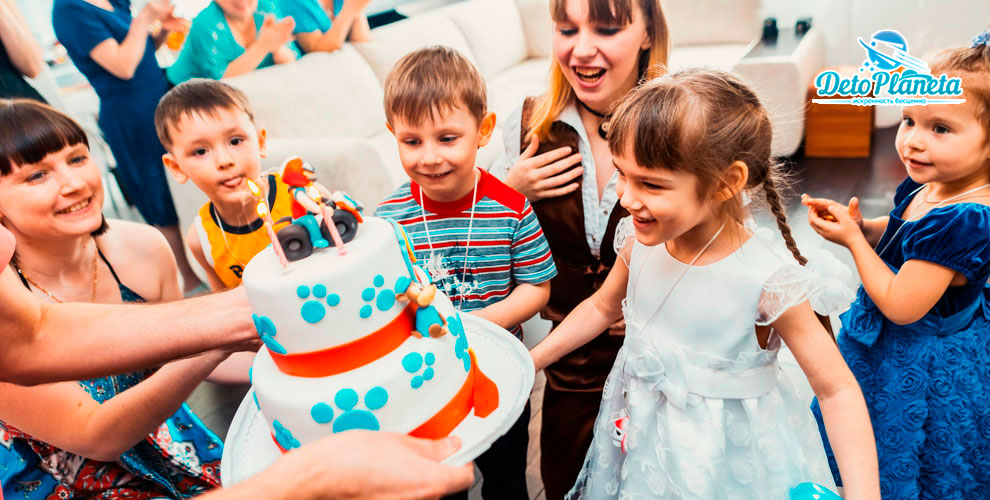 Deto Planeta: «Экспресс-поздравление» и проведение Дня рождения