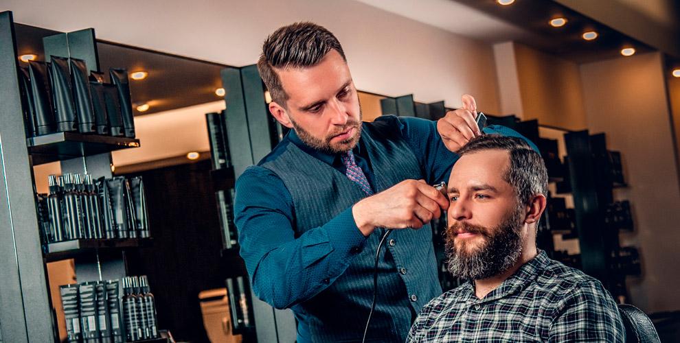 Моделирование бороды, стрижки, «Королевское бритье» в барбершопе Barbudos