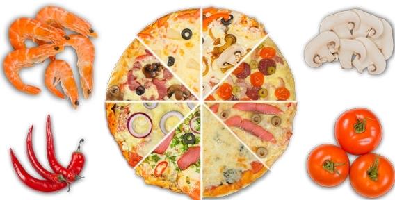 """Пицца по вашему рецепту! Новинка - """"Конструктор пиццы"""", а также всё меню от круглосуточного ресторана доставки Verona pizza"""