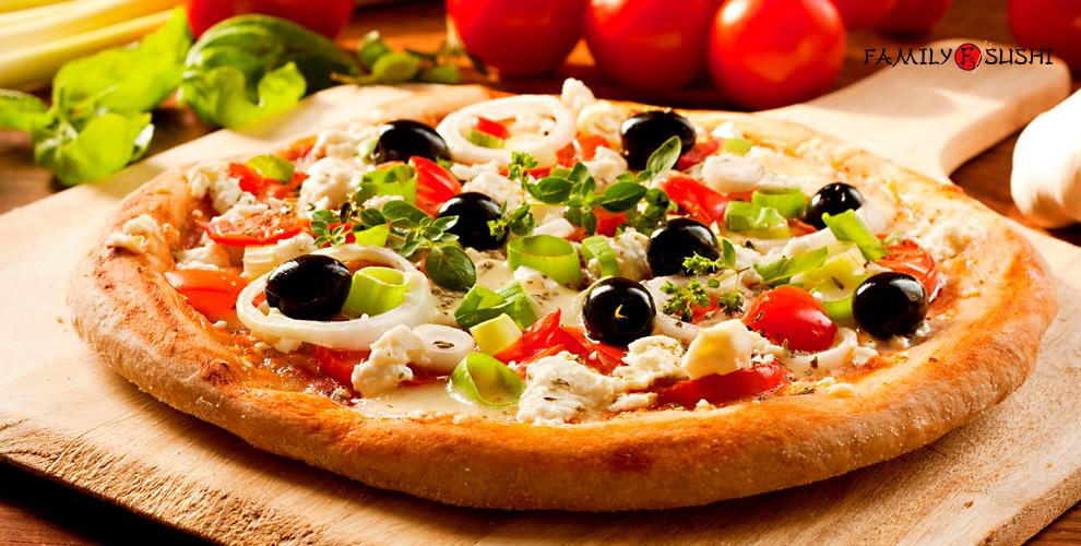 Пиццы «Мясная», «Таиланд» и не только от службы доставки Family суши