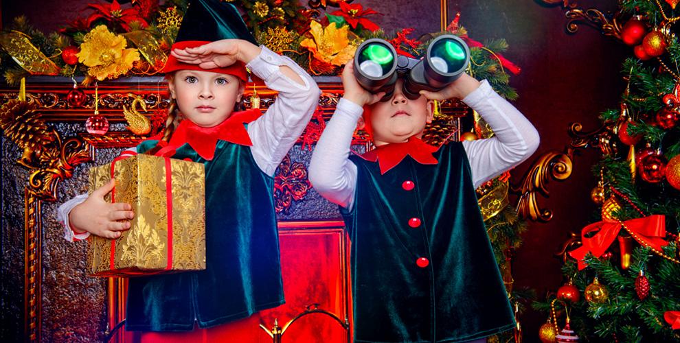 «Коматек»: детские новогодние представления исладкие подарки отДеда Мороза