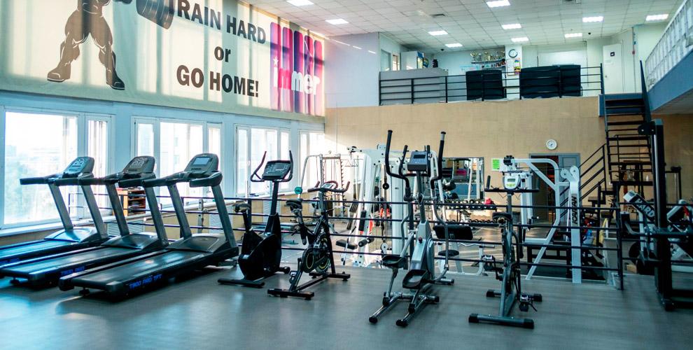Посещение тренажерного зала в фитнес-клубе Immer