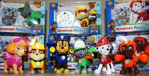 """Игровой набор и игрушки """"Щенячий патруль"""", а также машина на радиоуправлении от магазина """"Настенька"""""""