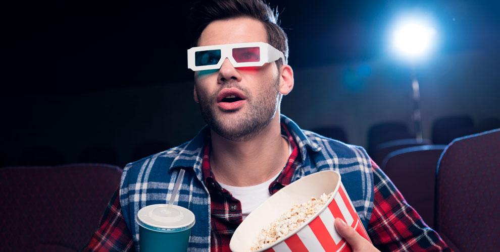 Билеты накино вформате 2Dи3Dвсети кинотеатров «Алмаз Синема»