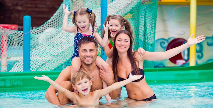 """Целый день в аквапарке """"Аква-Юна"""": серфинг, горки, бассейны, сауна, бильярд и не только"""