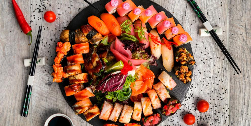 «Филадельфия суши»: сеты изсуши ипиццы
