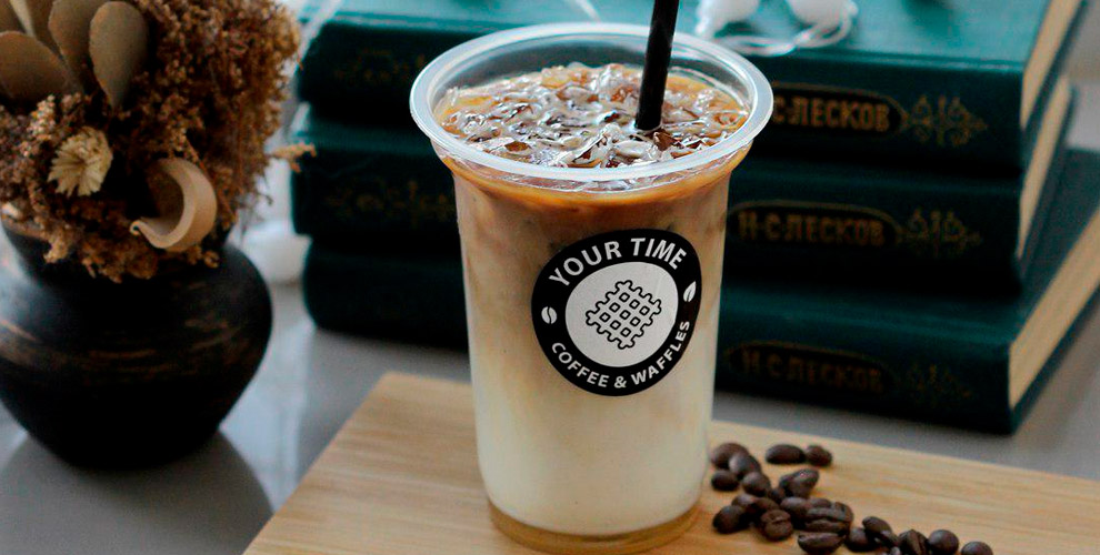 Бельгийские вафли икофе навыбор вкофейне Coffee&waffles YOUR TIME