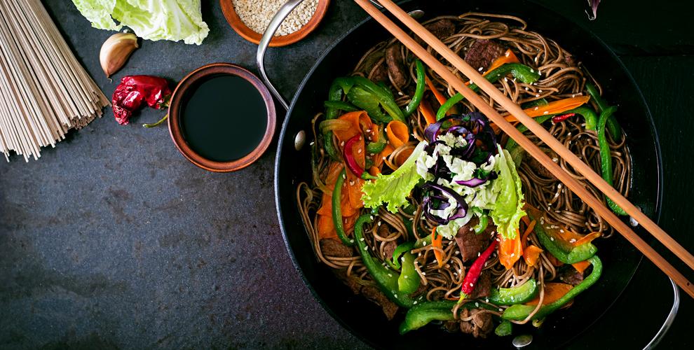 Меню кухни и напитки в сети китайских ресторанов «Чайна Клуб»