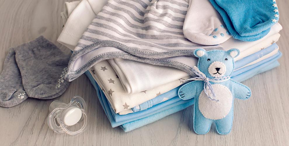 Одежда и товары для детей в магазине «Все для новорожденных»