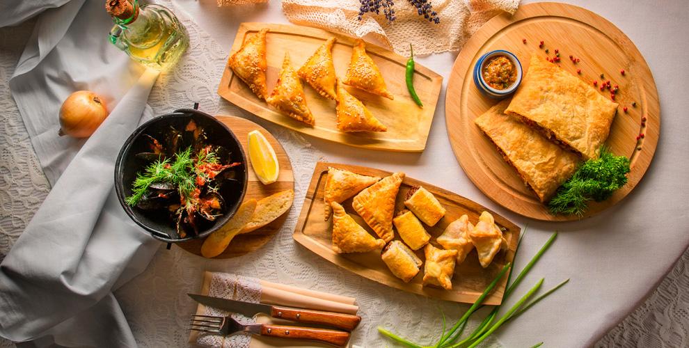 Самса, хачапури, ватрушка, пицца, напитки и не только в кафе «Doner-Хаус»