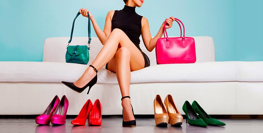 Ассортимент сумок, одежды и обуви в интернет-магазине Diva El