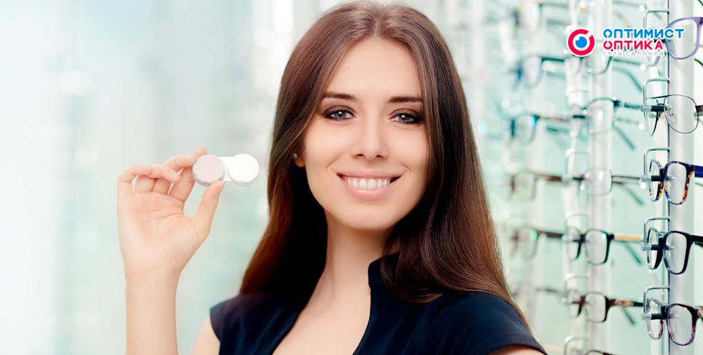 Сеть салонов «Оптимист Оптика»: диагностика зрения и пара контактных линз в подарок