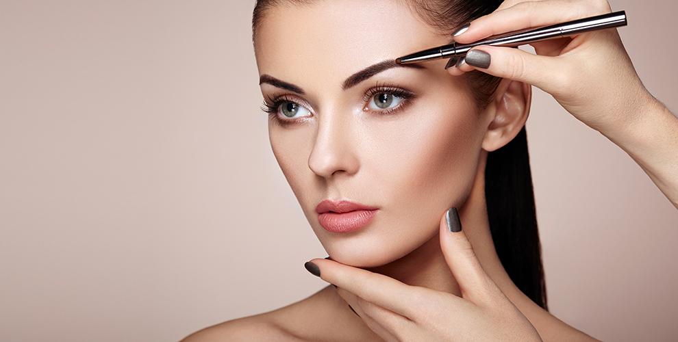 Оформление, ламинирование ипротеиновое восстановление бровей всалоне Beauty center