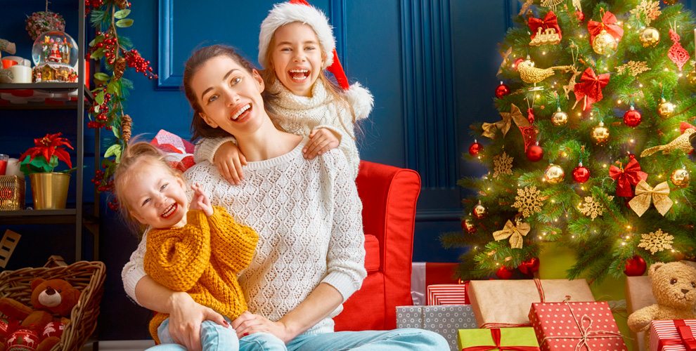 Новогодние интерьерные фотосессии вBeauty center